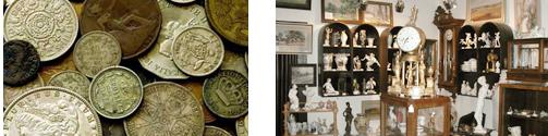 mince a starožitnosti